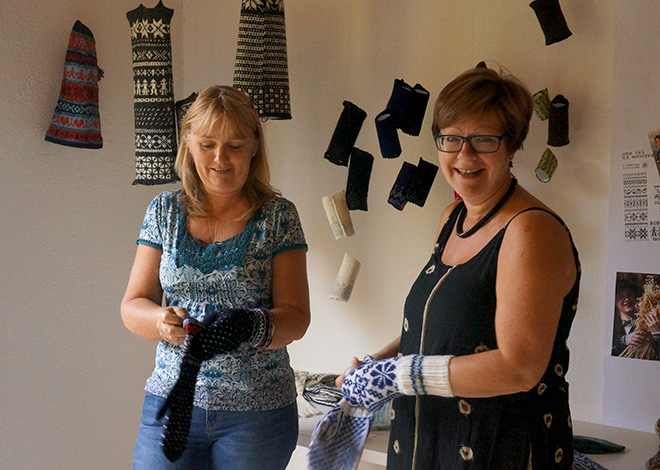 2014 Exhibition of Norwegian textile patterns